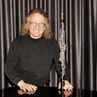 Bild von Alfons Schwab mit Oboe