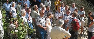 Exkursion zu den Plattenkalken bei Egesheim und Nusplingen