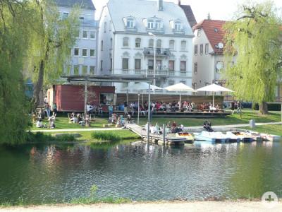 Die Bootsverleihanlage ist ein Geschenk von Bürgern für die Mitbürger initiiert und organisiert vom Heimat – Forum Tuttlingen an der Donau e. V.