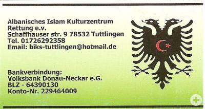 Unsere Visitenkarte