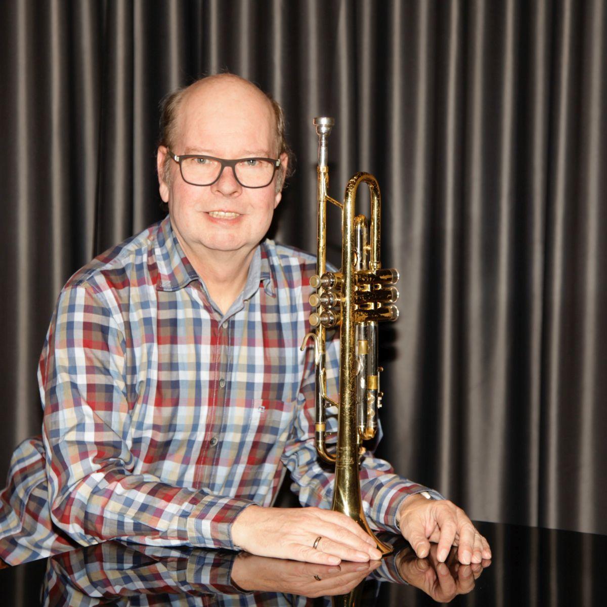 Bild von Klaus Dietrich Dietrich mit Trompete