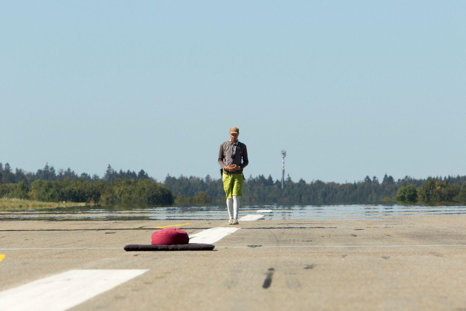 Daniel Beerstecher, Walk-in-time – Zieleinlauf